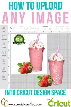 cricut hacks This simple way to upload images into Design Space works with both a Windows PC and a Mac. The steps are just a little different for each. How To Use Cricut, Cricut Help, Cricut Air 2, Cricut Vinyl, Cricut Fonts, Space Words, Cricut Explore Projects, Cricut Tutorials, Cricut Ideas