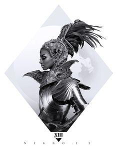 gorgon 3, Nekro . on ArtStation at https://www.artstation.com/artwork/2KVNa