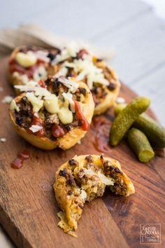 Cheeseburger Rolls – Perfekter Picknick-Snack