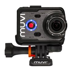 Veho Muvi K-Series K2 Handsfree Camera wifi Sports Bundle - Black (VCC006K2S)