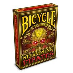 Steampunk Pirates Bicycle Playing Cards -  http://www.amazon.com/exec/obidos/ASIN/B00K6PUB62/rocketfin-20
