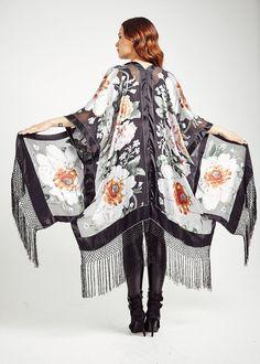 Frange de soie Kimono Vision orientale classique par shevamps