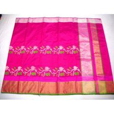 Pure Pattu Silk Chanderi Saree (GP549)