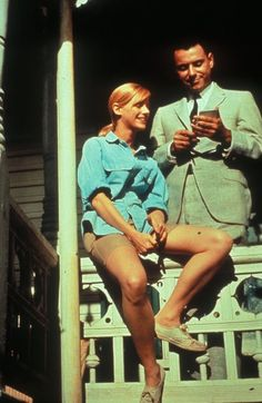 Alan Arkin and Sondra Locke, The Heart is a Lonely Hunter 1968