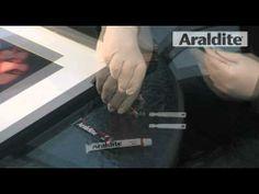 Araldite Rapid Adhesive. Video by Romerco