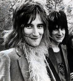 rod stewart and ronnie wood... faces