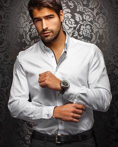 Au Noir shirt - Ferre White - [White Label] - Men Fashion