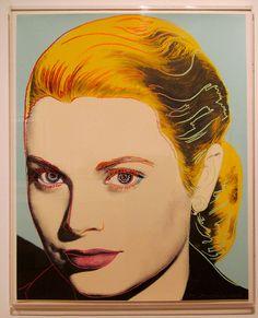 Andy Warhol. Grace Kelly, 1984