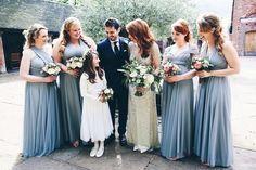 Jenny Packham Glamour for a Lovette's Elegant English Country Barn Wedding (via Bloglovin.com )