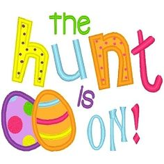 The Hunt Applique - 3 Sizes! | Words and Phrases | Machine Embroidery Designs | SWAKembroidery.com Band to Bow