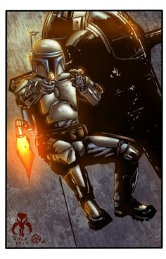 Jango Fett - colors by ZethKeeper on DeviantArt