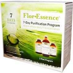 Flora, Flor·Essence, 7-Day Purification Program, 3-Part Program - iHerb.com