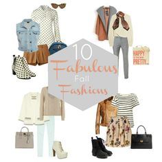 10 Fabulous Fall Fashions - ways to transition summer clothes to fall wardrobe.