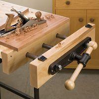 Woodworking end vise