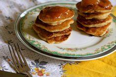 Vegan Jam Swirled Pancakes by joy the baker