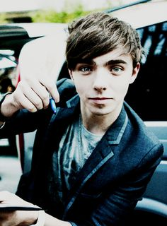 Nathan!!! he's eyes! After looking at this pic for a while...... its creeping me out.