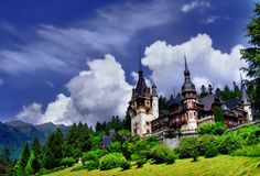 Located in Sinaia km from Brasov), Peles Castle is considered by many one of the most beautiful castles in all Europe. It was the final . Brasov Romania, Peles Castle, Visit Romania, Work Site, Fairytale Castle, My Prince Charming, Beautiful Castles, Art And Architecture, Mother Earth