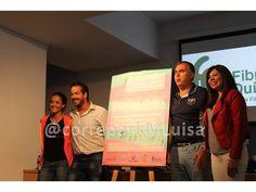 """Presentación de la """"XV Carrera Benéfica de la Fibrosis Quística""""."""