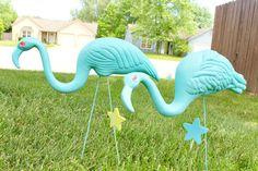 Glam Lawn Flamingo Tutorial by Pajamie