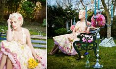 LOVVVVEEEEEE THIS!!  I would love to do something similar to this but with the victorian char or bench!!!  :D