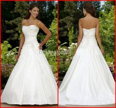 I found some amazing stuff, open it to learn more! Don't wait:https://m.dhgate.com/product/sexy-sweetheart-taffeta-a-line-wedding-dresses/170735474.html