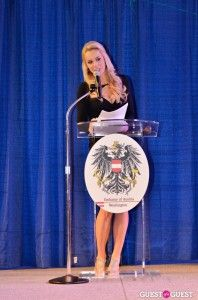 Our Emcee, WJLA's Britt McHenry sports reporter.