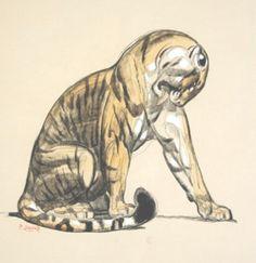 Paul Jouve Tigre tiger