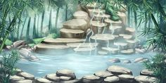 Fantasy Landscaping Wanderlust - Landscaping On A Hill Front Yard - Green Hydrangea Landscaping - Landscaping Photos With People - Simple Landscaping Architecture - Scenery Background, Fantasy Background, Background Drawing, Animation Background, Background Patterns, Episode Interactive Backgrounds, Episode Backgrounds, Anime Backgrounds Wallpapers, Anime Scenery Wallpaper