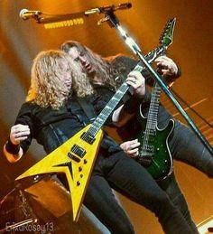 Thrash Metal, David Ellefson, Metal Horns, Dave Mustaine, Best Guitarist, Band Photos, Heavy Metal Bands, Alternative Music, Hard Rock