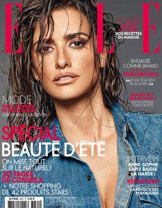 Penélope Cruz en couverture de ELLE cette semaine !