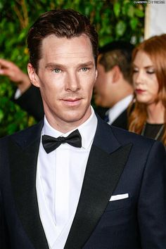 Benedict Cumberbatch at the Golden Globes 11th January 2015