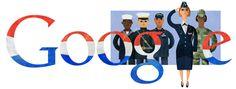 Google Doodles-Veterans Day 2014 Nov 11, 2014