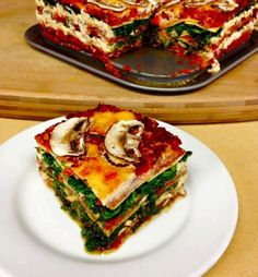 Vegan vs Everest: Plant-based Spinach and Nut-cheese Lasagna