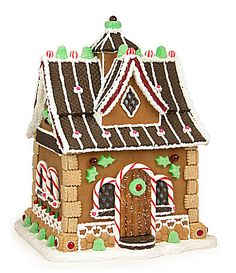 Byer's Choice gingerbread house! Perfect for my gingerbread themed kitchen!
