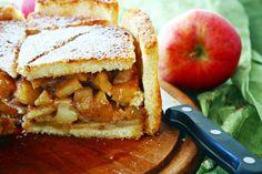 Apfel-Charlotte mit gesalzener Butter