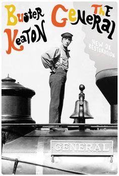 Movie Poster of the Week: Buster Keaton and the Poster Art of Dylan Haley on Notebook | MUBI