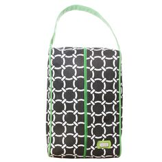 SlamGlam - Ame Lulu Arcadia Golf Signature Shoe Bag.  This is the perfect carrying case for golf, tennis, athletic shoes.  Great for packing your essentials in your suitcase.