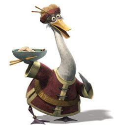 "Mr Ping: Adoptive father of Po in Kung Fu Panda. ""We are noodle folk - broth runs deep through our veins."" #Mr_Ping #Goose #Kung_Fu_Panda"