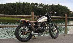 Yamaha SR250 - Northwest Cafe Riders - The Bike Shed