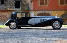 Bugatti Royale Type 41 - this car is enormous. Only 6 ever made, I believe.