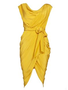Rodeo Show Dimity Dress Mustard - a different spin on the name - http://appellationmountain.net/dimity-baby-name-day/