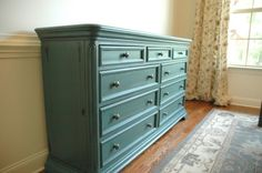 Make A Dining Room Sideboard Out of a Dresser-BM Dragonfly