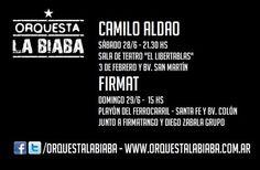 Orquesta La Biaba de gira