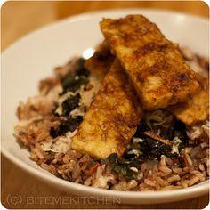 Tempeh-Kale Macro Bowl with Miso-Tahini Dressing ~ BMK | Cook