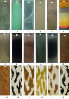 METALS FINISH GUIDE-(AB) Patina Metal, Bronze Patina, Patina Finish, Copper And Brass, Metal Clay, Metal Art, Metal Facade, Wood Siding, Metal Texture