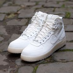 Nike Air Force 1 Hi-Top: Ice White