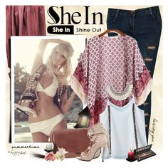 """SheIn - Happy day!"" by anita-n ❤ liked on Polyvore featuring Smashbox"