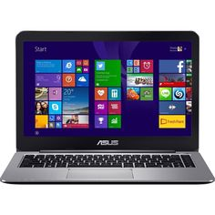 "Asus - VivoBook E403SA 14"" Laptop - Intel Pentium - 4GB Memory - 128GB eMMC Flash Memory - Metallic gray"