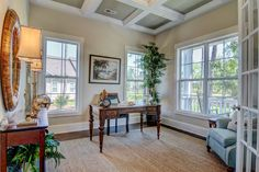 With an office like this, you will be happy to work! l Arlington l Logan Homes