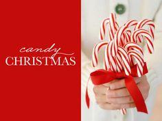 Ideias de Natal - decoração em vermelho e branco - candy inspired